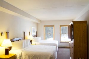 vintage hotel room