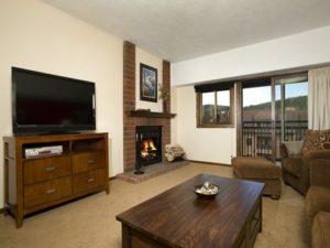 Village at breck living room